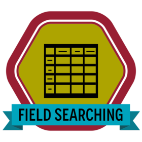 field searching badge